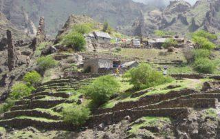 Landschaft auf der Wanderinsel Santo Antao in Cap Verde