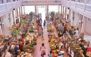 Markthalle in Mindelo, Kapverdische Inseln