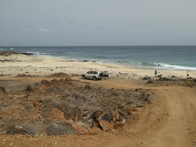 auf Sao Vicente per Allread an einsame Strände