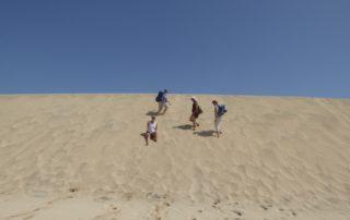 Auf der Düne in Sal, Kapverden, West Afrika