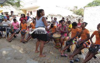 Batuko Tanz auf Santiago, Kapverden
