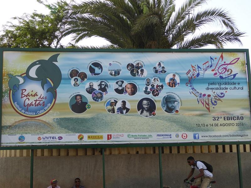 Festival Baía das Gatas auf Sao Vicente