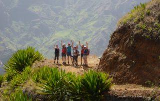 Viel Spaß beim Frauenwandern in Kap Verde