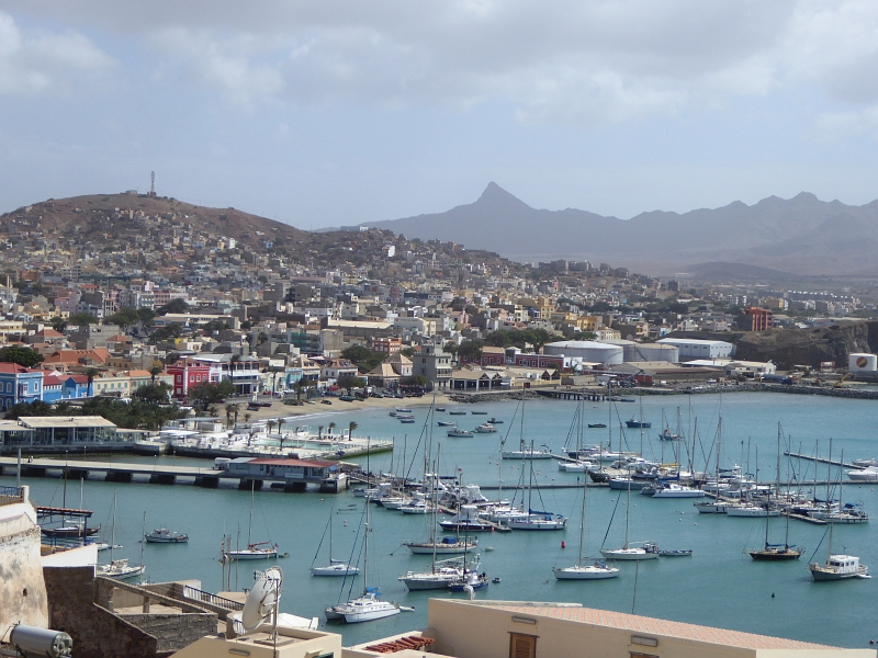 Hafenbucht von Mindelo auf Sao Vicente
