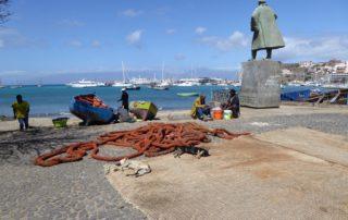 Hafenszene in Mindelo