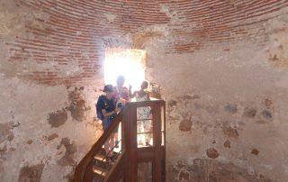 Historische Zisterne Fortaleza Sao Filipe in Cidade Velha