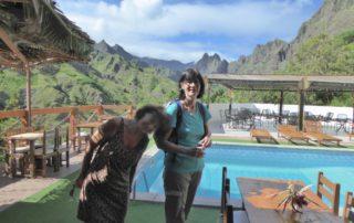 Frauenwandern und Frauenreisen Kapverdische Inseln