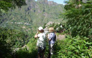 Frauenwandern auf Kap Verde, Westafrika