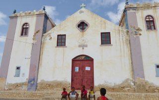 Kirche auf Boa Vista, Kapverdische Inseln