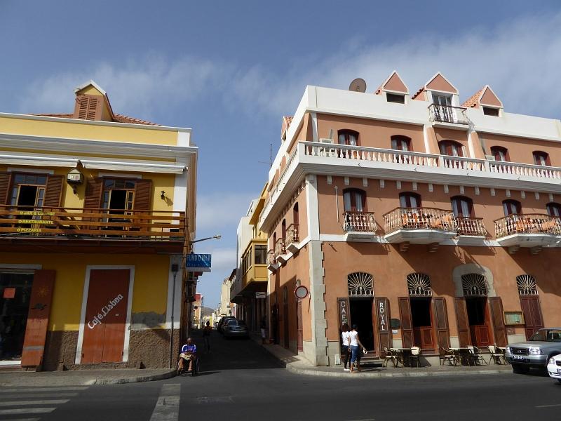 Kolonialbauten in Mindelo auf Sao Vicente