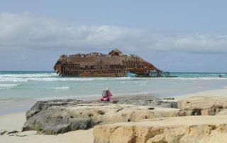 Schiffswrack Insel Boa Vista