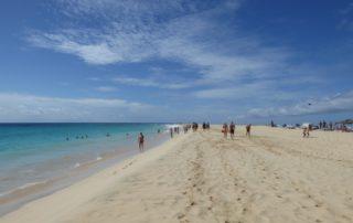 Kapverden - Strand von Santa Maria, Insel Sal
