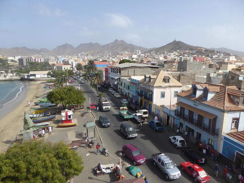 Uferstrasse von Mindelo