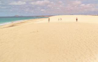 Urlaubsausklang am Strand von Sal, Cap Verde