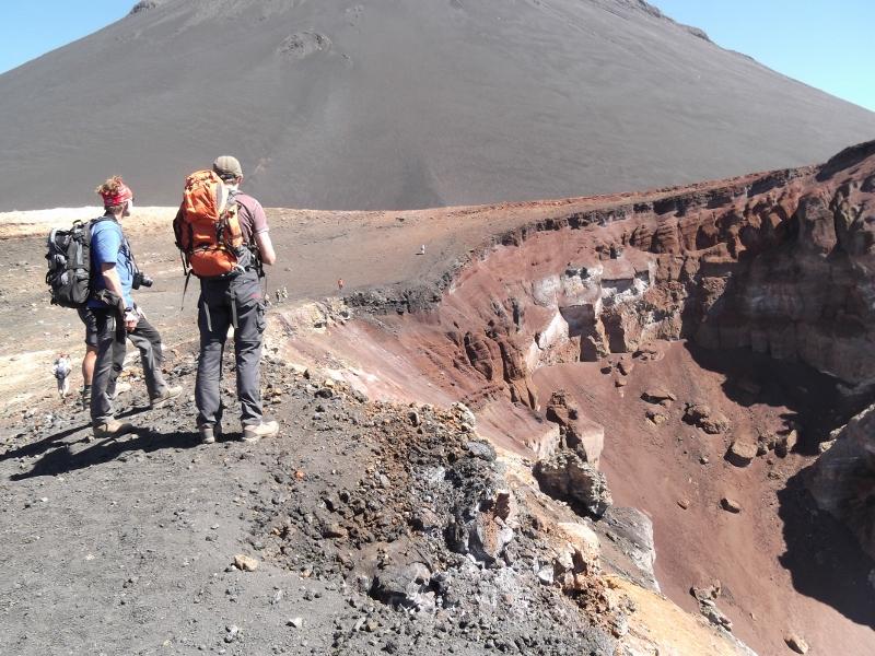 Vulkankrater auf der Insel Fogo, Cap Verde
