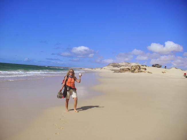 Strand auf Boa Vista, Capverdische Inseln