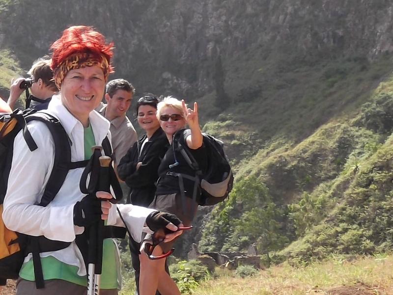 Individuell in Kleingruppe wandern auf Santo Antao Kapverden
