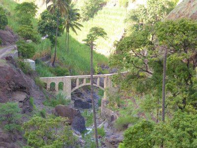 Kapverden Santo Antao - Aquädukt bei Caibros