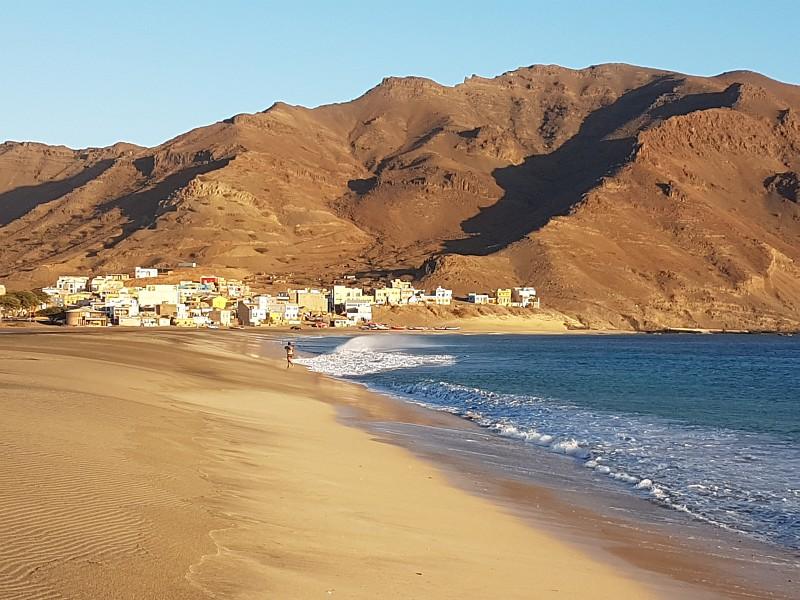 Strand von Sao Pedro, Cabo Verde