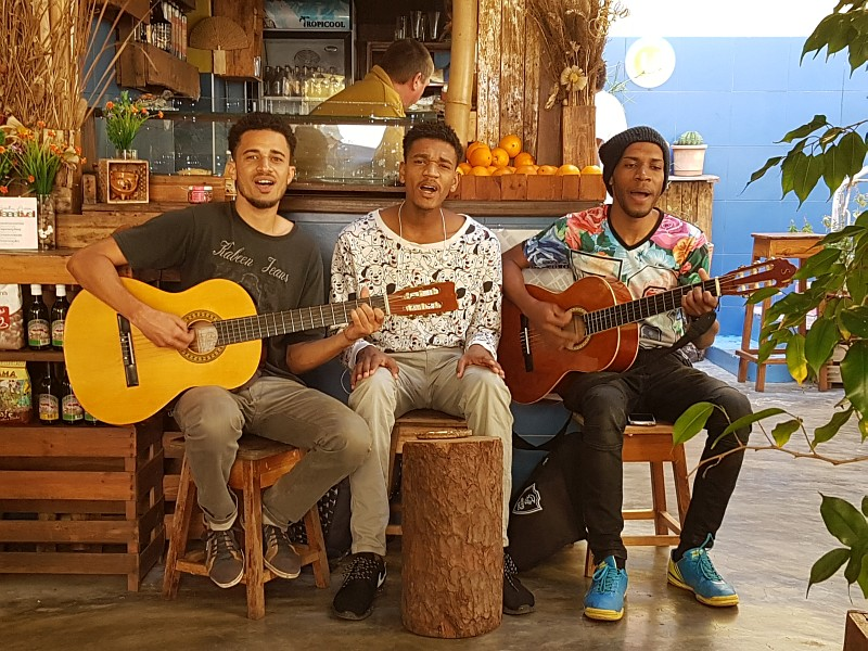 Musiker in Mindelo, Cabo Verde