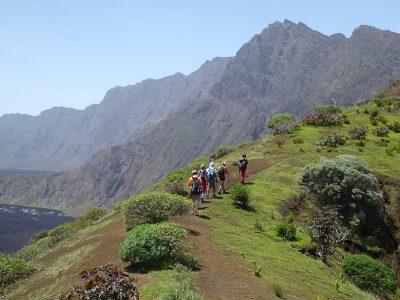Kapverden Insel Fogo - Wanderung auf die Bordeira