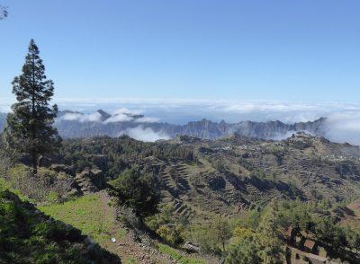 Panorama - Landschaft auf Santo Antao, Capverden