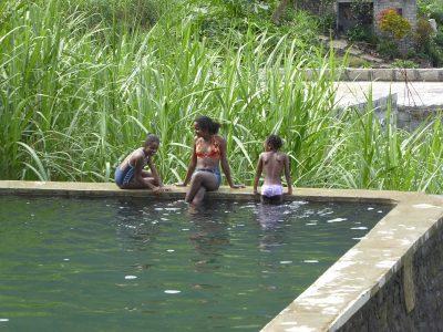 Baden im Wassertank, Ribeira de Paul
