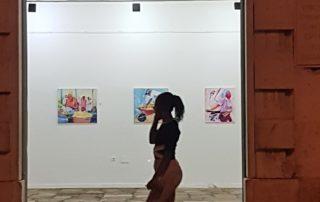 Kiki Lima Ausstellung im Kulturhaus Mindelo