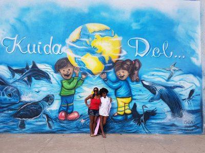 Insel Sal, schöne Wandmalerei