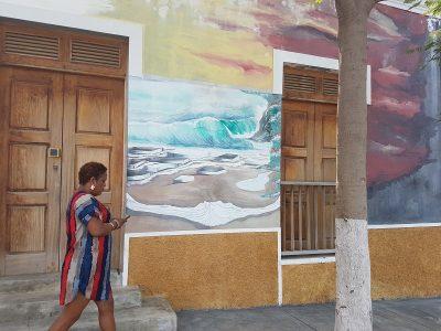 In Sao Filipe, Insel Fogo