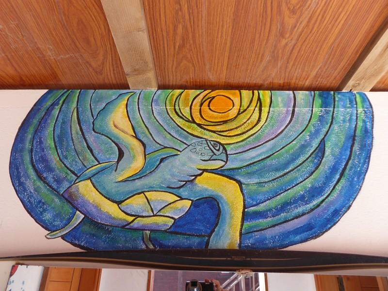 Wandbild Meeresschildkröte Kapverden