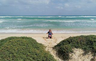 Kite-Strand in Sal