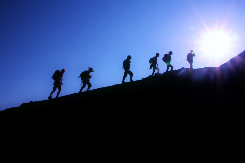 Aufstieg auf den Vulkan Pico de Fogo